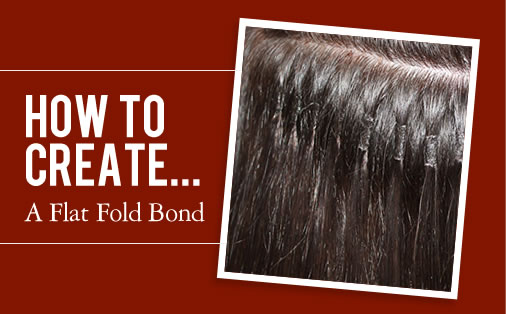 how to create a flat fold bond
